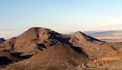 dirt mountains