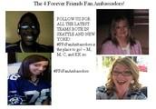 What are #FFAmbassadors?