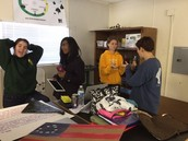 CCHS - STEM Juniors work on creating an American themed Shakespearean play