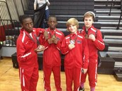 Congrats to our DMS/ BJ Wrestlers