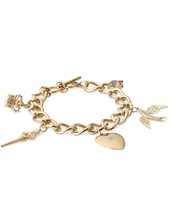 Wonderland Charm Bracelet (gold-plated)