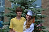 Larry and I at my high school graduation