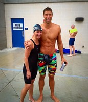 Kari meets Matt Grevers