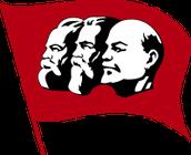 Bandera del marxismo-lenismo
