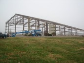 Removing the hangar before DHE was built