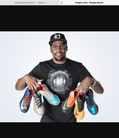 This is Kevin Durant he made the shoes above this picture