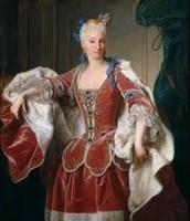 Su mujer Isabel de farnesio
