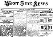 1800's Newspaper