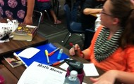 Coal and sedimentary rock formations in 5th grade!
