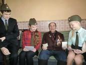 Общение с ветераном Лойко Василием