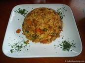 rice and chicken (arroz con poll)