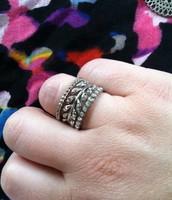 Laurel Rings- set of 3, size 8