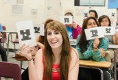 Tried out @plickers today 4 the 1st time. Omg. Amazing! Sheets of paper that work like a set of classroom clickers w/ ur smartphone.