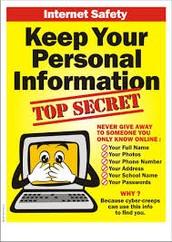 Keep Personal Information Secret