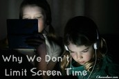 What is screen time?