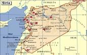 ¿Dónde está siria?