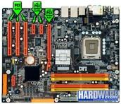 The PCI Slot and the PCI-E slot