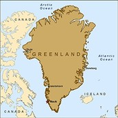 Greenland Norse/Inuit Map