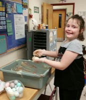 We're Dyeing Eggs!