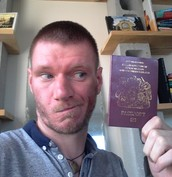 June - The Ups and Downs of a Best Man (aka PassportGate)