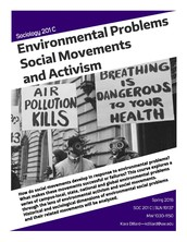 SOC 201C Sociology and the Environment