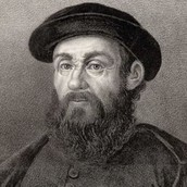Ferdinand Magellan when he was older.