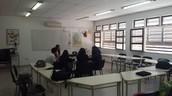 Un aula de Alemán