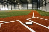 One of our indoor fields!