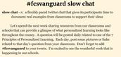 #fcsvanguard Slow Chat!