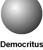 Democritus's model