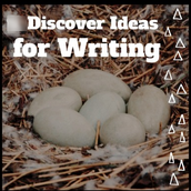 Discover ideas for writing.