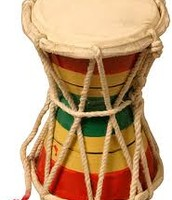 Multicolored design and roped strings