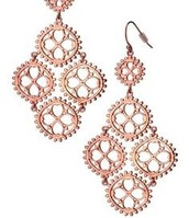 CARMEN CHANDELIER EARRINGS rose gold *SOLD*