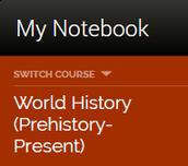 NEW: Student Notebook Feature