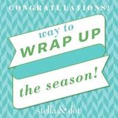 Wrap up the Season