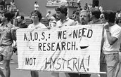 """AIDS Causes Blindness."" (AIDS Action Committee)"