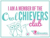 Congratulations to our Owlchiever earners!
