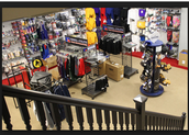 Our store sells the BEST type of clothing and equipment in town!