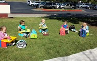 Our adorable picnic
