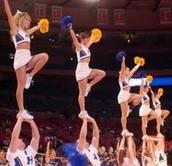 Dangers of  cheerleading