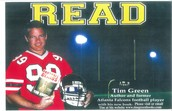 Author Tim Green coming May 5
