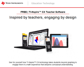 Try TI-Nspire™ CX Teacher Software – FREE – for one full year