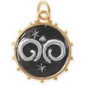 Aires Zodiac Charm