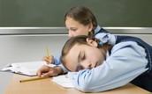 Sleeping a lesson