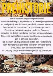 Prehistorie poster