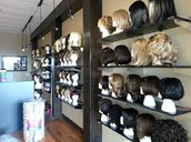 COME TRY ON SOME OF OUR WIGS!