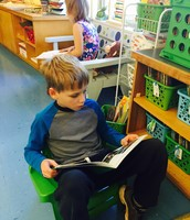 "Henry ""reading to self"""