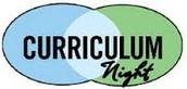 Curriculum Night Info