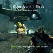 who likes sherk anyway!