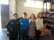 4th Grade Love Chapel Food Drive